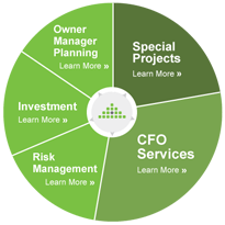 Part time CFO services for Canadian small business